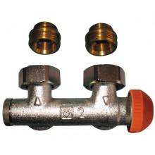 HERZ TS-3000 šroubení s termostatickým ventilem M 28 x 1,5 rohové 1369491
