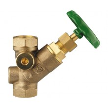 HERZ STRÖMAX AW, šikmý uzavírací ventil, DN 40, 2411515