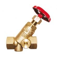 HERZ STRÖMAX A, šikmý uzavírací ventil pro vytápění nebo chlazení, DN 65 - 1411517