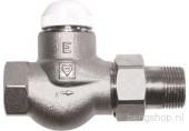 """HERZ TS-E Termostatický ventil M 28x1,5 plnoprůtočný, přímý 1/2"""", 1772311"""