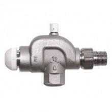 """HERZ TS-E Termostatický ventil M 28x1,5 plnoprůtočný, axiální s odvzdušněním 1/2"""", 1772821"""