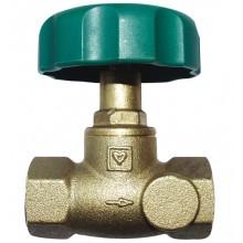 HERZ Uzavírací ventil přímý bez otvorů a vypouštění, DN 32, 2421544