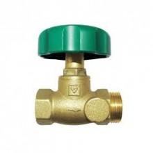 HERZ Uzavírací ventil přímý bez otvorů a vypouštění, DN 15, 2421561