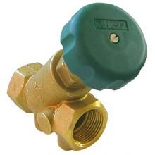 HERZ Uzavírací ventil se zpětnou klapkou DN 25, 2412603