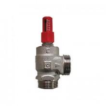 HERZ Přepouštěcí ventil, rohový DN 15, 10-2000 l/h, 1400441