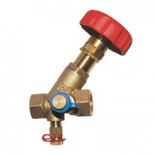 HERZ STRÖMAX M, šikmý regulační ventil s měřícími ventilky DN32 1411754