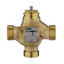 HERZ 3-cestný směšovací a rozdělovací ventil DN 25, Kvs 10, 1403725