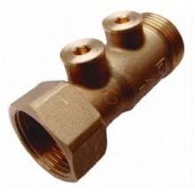 HERZ Zpětná klapka s kontrolními vývody DN 25, PN 1, 1262303