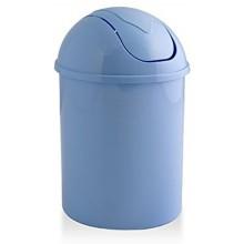 HEIDRUN Odpadkový koš 31,5 x 20 x 20 cm, 6 l, modrá