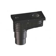 HL 660E Lapač střešních splavenin s odtokem DN125/110