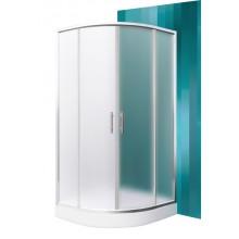 Roltechnik Sprchový kout HOUSTON NEO / 900 - brillant / Matt Glass