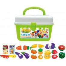 Hrací set G21 Ovoce a zelenina v kufříku 60026327