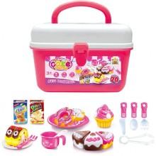 Hrací set G21 Pečení koláčků v kufříku 60026325
