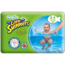 HUGGIES Little Swimmers Plavecké plenky 7-15 kg (12 ks) 147835