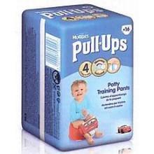HUGGIES Pull Ups Medium Dětské plenky - Boys (16 ks) 8-15 kg 147839