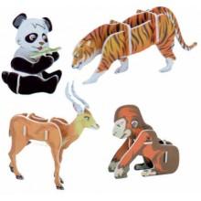 HUTERMANN 3D puzzle skládačka Zvířátka II Asie 2577