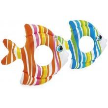 INTEX Dětský nafukovací kruh oranžová ryba, 59223