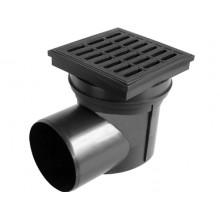 Kanalizační vpusť boční D 110 (KVB110V) vodní hladina, plast 324V