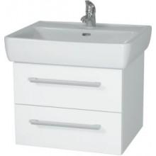 INTEDOOR NORDIC koupelnová skříňka 60 cm, závěsná s umyvadlem, bílá NR 60 01