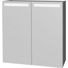 INTEDOOR D ZS zrcadlová skříňka s LED osvětlením 70x72cm bílá D ZS 70 01