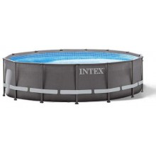 INTEX ULTRA FRAME POOL 4,27 x 1,07 m s filtrační pumpou ( 12V ) 26310GN