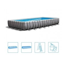 INTEX ULTRA FRAME RECTANGULAR POOL 9,75 x 4,88 x 1,32 m, 26372GN