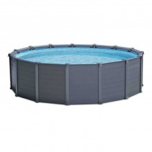 INTEX GRAPHITE GRAY PANEL POOL 4,78 x 1,24 m, 26382GN