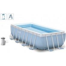 INTEX 26778 Bazén obdélníkový s rámem Prism frame 4,88 m x 2,44 m x 1,07 m