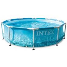 INTEX Bazén Florida Beachside Metal Frame Pool 3,05m x 0,76m 28206NP