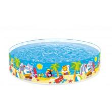 INTEX Dětský bazén s pevnou stěnou 224x46 cm, 58457