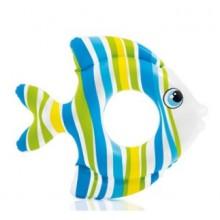 INTEX Dětský nafukovací kruh modrá ryba, 59223