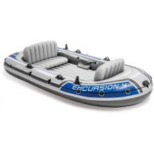 INTEX Excursion 4 set nafukovací člun, 315 x 165 x 43 cm 68324