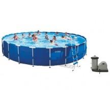INTEX Bazén Metal Frame Pool Set 732 x 132 cm, 28262GN