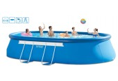 INTEX Bazén Oval Frame Pool 3,66 x 6,10 x 1,22 m, 28194GN