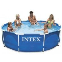 VÝPRODEJ INTEX Bazén Metal Frame Pool 305 x 76 cm, 28200NP POŠKOZENÝ OBAL!!