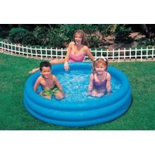 INTEX Bazén 3-Ring Crystal Blue prům. 1,47 x 0,33 m - dětský, 58426NP