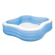 INTEX Rodinný bazén 229 x 229 x 56 cm ( modrý ) 57495NP