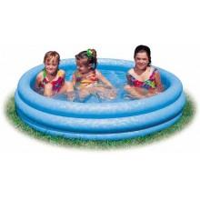 INTEX Bazén 3-Ring Crystal Blue prům. 1,14 x 0,25 m - dětský, 59416NP