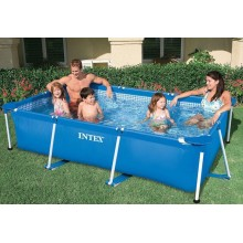 INTEX Rectangular Frame Pool 260 x 160 x 65 cm 28271NP