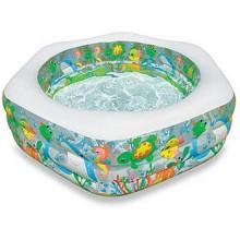 "INTEX ""Ocean Reef Pool"" 1,91 x 1,78 x 0,61 m, nafukovací bazén, 56493NP"