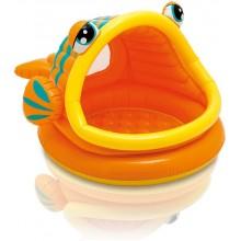 INTEX Dětský bazén Lazy Fish Shade Baby 57109NP