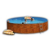 Dekorační folie dřeva New Splasher pro bazény 3,5 x 0,9 m 011006