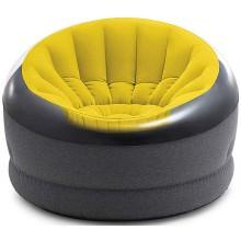 INTEX Empire chair křeslo žluté 66582NP