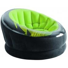 INTEX EMPIRE CHAIR Nafukovací křeslo 112 x 109 x 69 cm, zelená 68581