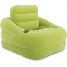 INTEX Accent Chair nafukovací křeslo zelené, 68586NP