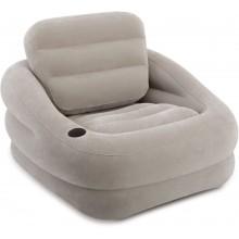 INTEX Accent Chair nafukovací křeslo šedé, 68587NP