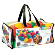 INTEX FUN BALLZ Míčky do bazénu 6,5 cm, 100 ks 49602