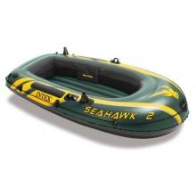 INTEX Seahawk 2 Set Nafukovací člun, 236 x 114 x 41 cm 68347
