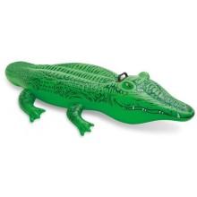 INTEX Nafukovací zvířátka 168 x 86 cm, krokodýl 58546NP