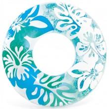 INTEX Plovací kruh 91cm, modrá 59251